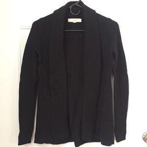 Shawl Collar Open Cardigan Sweater